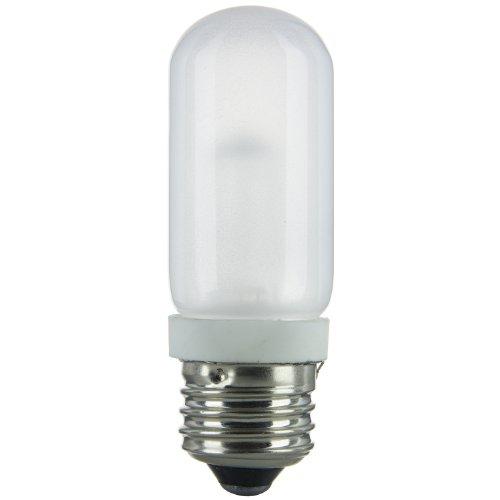 - Sunlite 250T10/HAL/FR 250-Watt Halogen Double Envelope T10 Bulb, Frost