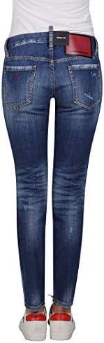 Fashion | Dsquared2 Woman S75LB0323S30342470 Blue Cotton Jeans | Fall Winter 19