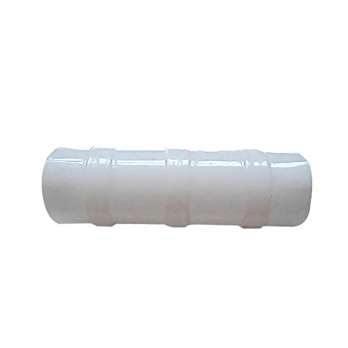 Pipe Clamps for Fixing Greenhouse Film Row Cover Netting Tunnel Hoop Clips, 1.2'' Dia White 50pack by Row tunnel (Image #1)
