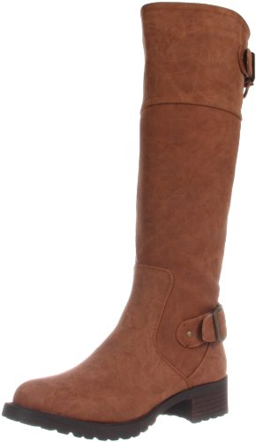 Wanted Shoes Women's Ballard Knee-High Boot - stylishcombatboots.com