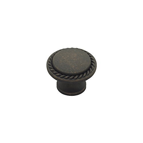 Liberty PN0293-OB-C 30mm Rope Edged Cabinet Hardware Knob by Liberty ()