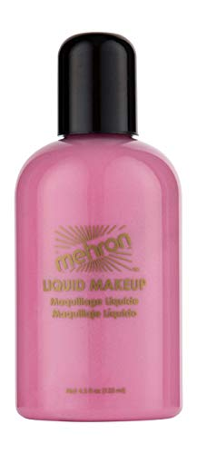 Mehron Makeup Liquid Face and Body Paint (4.5 oz) (PINK) -