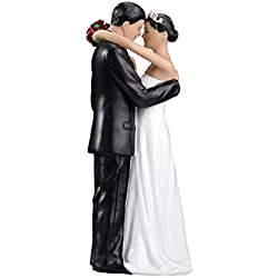 Lillian Rose Hispanic Bride and Groom Wedding Cake Topper