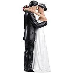 Lillian Rose Hispanic Bride and Groom Wedding Cake Topper