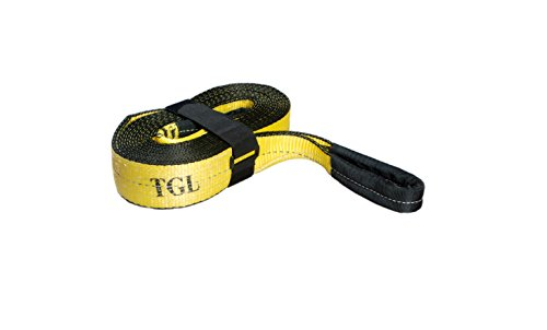 Find Cheap 3, 20' Tow Strap, 30,000 Pound Capacity with Reusable Storage Strap