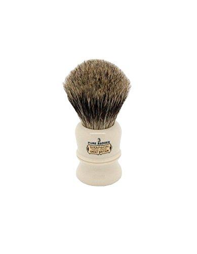Brocha Afeitar Tejón SimpsonsDuke 3 Pure Badger Simpsons Shaving Brushes