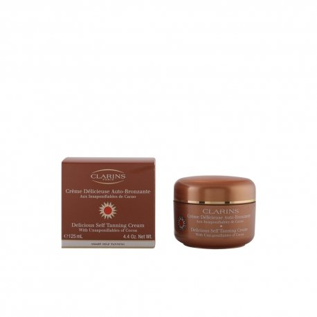 Face Clarins Gel - Clarins Delicious Self Tanning Cream Helps Maintain the Skin's Youthfulness, 4.5 Ounces