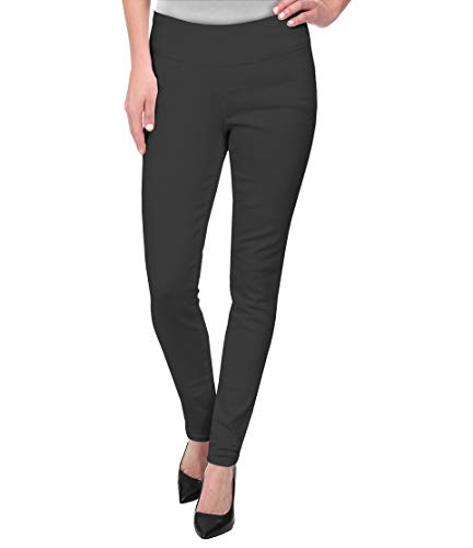 (HyBrid & Company Super Comfy Stretch Pull On Millenium Pants KP44972 Charcoal XLarge)