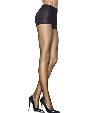 Hanes Women`s Silk Reflections Lasting Sheer Control Top Pantyhose,0A925,CD