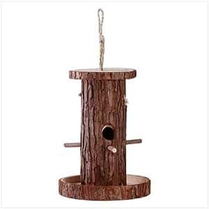 Hollow Log Birdhouse