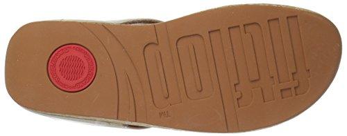 Toe Ouvert FitFlop Cream Femme Bout Sandals Ecru Ruffle Thong 477 TqxxA56