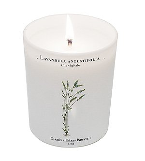 Lavandula Angustifolia (Lavender) Candle 6.7oz candle by Carriere Freres Industrie