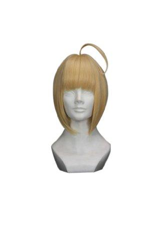 """18"""" Blonde Vintage Cosplay Wig with Bun"""