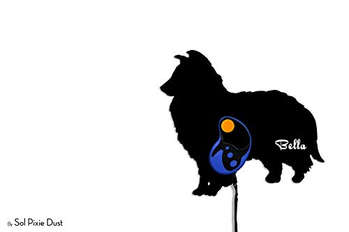 Custom Name Dog Leash Holder - Wall Hook ()