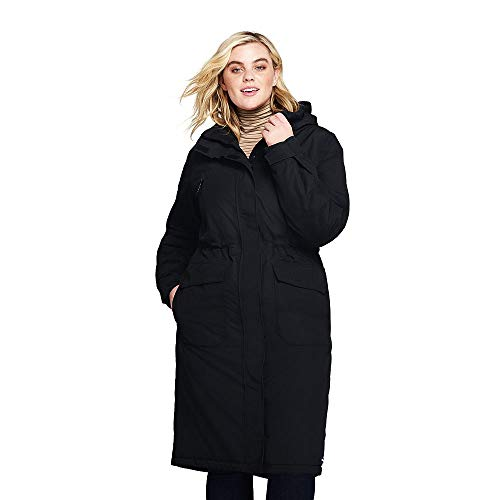 a700e53afb7 Jual Lands  End Women s Plus Size Squall Insulated Long Stadium Coat ...