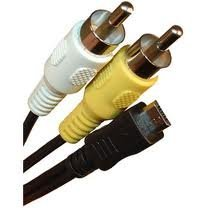 mpf-products-replacement-av-5-a-v-audio-video-rca-cable-cord-for-kodak-easyshare-c142-c143-c183-c195