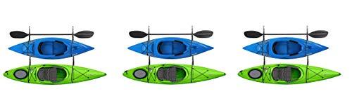 RAD Sportz 2029 Double Kayak Storage Strap GarageCanoe Hoists 100 lb Capacity (Pack of 3)