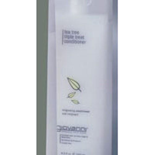 GIOVANNI Tea Tree Triple Treat Invigorating Conditioner, 8.5 Oz - 3 Pack