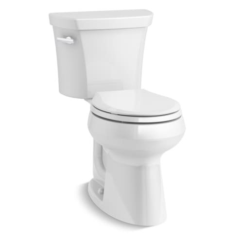 Kohler K-5481-0 Highline Comfort Height Two-Piece Round-Front
