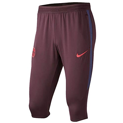 2020 Pant - Nike 2019-2020 Barcelona Three Quarter Length Training Pants (Burgundy)