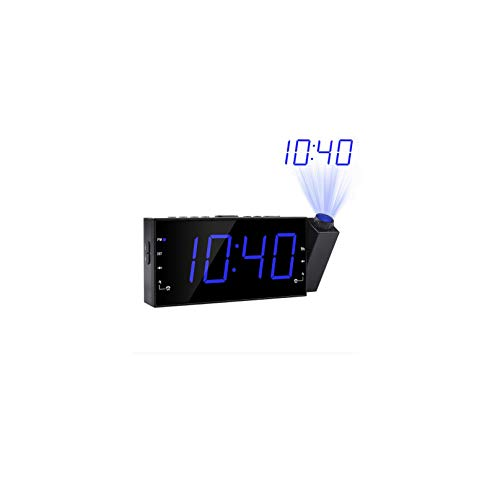 John-L Despertador Proyector, Reloj Despertador Proyector, Radio ...