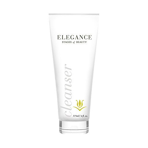 Elegance Facial Cleanser, Anti-Aging Skin Care, Fight Fine Lines & Wrinkles, Remove Dirt, Oils, and Makeup, Hydrate the Skin, Stages of Beauty, 120mL