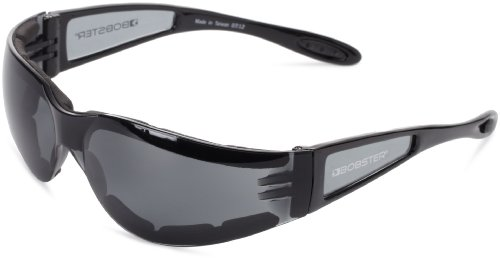 Bobster Shield 2 Sunglasses, Black Frame/Smoked Lens (Womens Motorcycle Bobster Sunglasses)