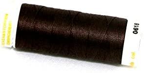 Mettler No 30 Machine Embroidery Quilting Thread 200m 200m 618 Chocolate each