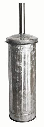 Autumn Alley Galvanized Toilet Brush with Holder | Add Farmhouse Function and Charm to Your -