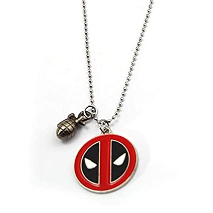 Value-Smart-Toys - New Deadpool Keychain Round Coin Metal ...