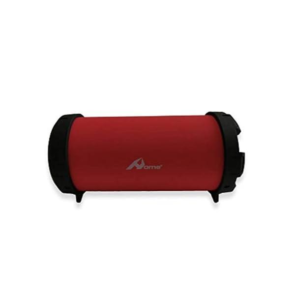 Home spa-030-Enceinte Bluetooth sans Fil, Couleur Rouge 4