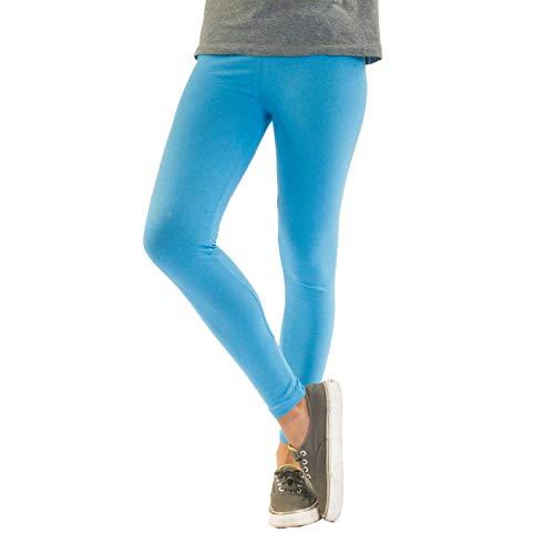 Azul De Verde Amarillo Opacas Algodón Claro Longitud Negro Para Tobillo Gris Leggings Polainas Del Rojo Mujer Blanco qRZvZTE