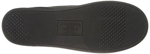Pantofole Mocassino Da Uomo In Microsuede Nero Isotoner
