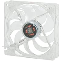 Rosewill RFTL-131209R 120mm Computer Case Cooling Fan with LP4 Adapter