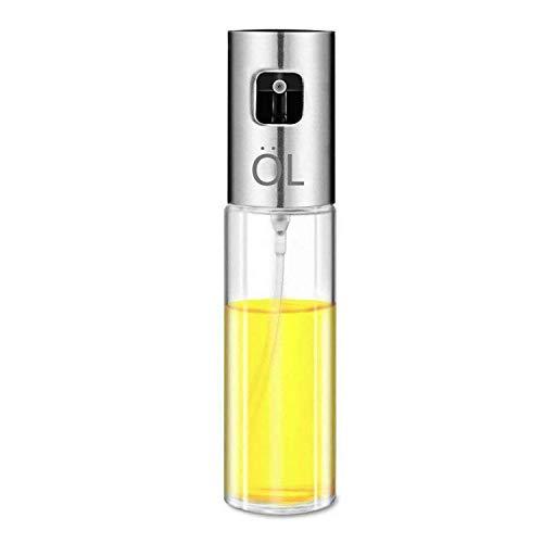 Oil Bottle Gourmet (wyxis Cooking Oil Sprayer Fine Mist Glass Bottle Oil Mister Gourmet-Portable Vinegar Spice Wine Lemon Sprayer Dispenser for Air Frying BBQ Grill Salad Baking,3.5 Ounce Capacity)