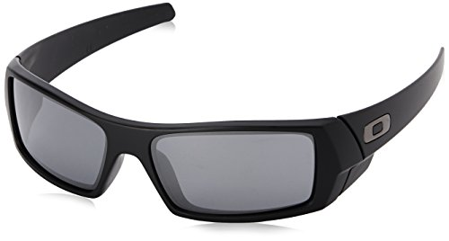 Oakley Men's Gascan 24-435 Black Wrap Sunglasses