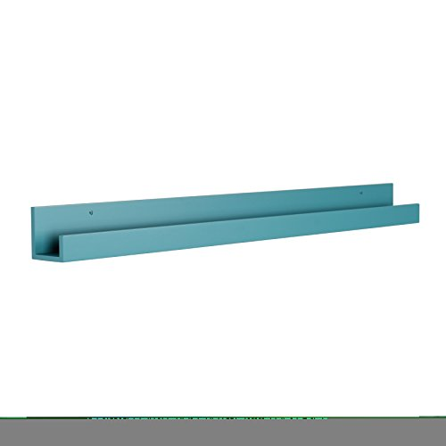Kate and Laurel Levie Modern Floating Wall Shelf Picture Fra
