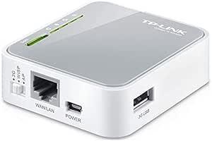 TP-LINK TL-MR3020 ROUTER, USB 2.0 Port for 3G modem