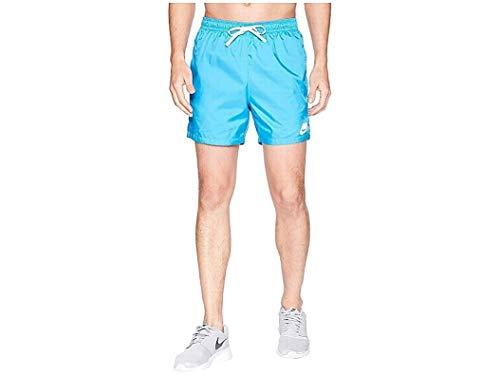 Nike Mens Woven Flow Short Equator Blue/White/White XL 5.5