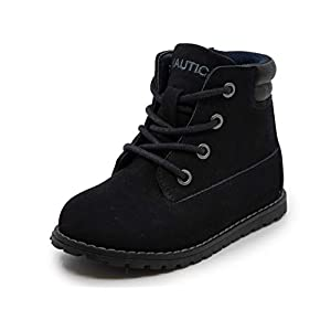 Nautica Kids Boys Chukka Boot Lace-Up and Zipper Bootie (Toddler/Little Kids)