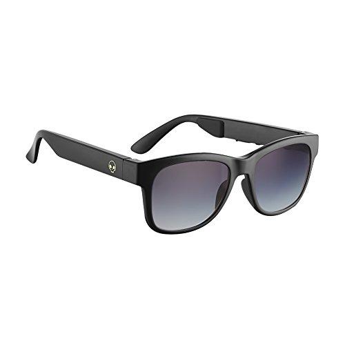 - Horizon Outdoor Alien 5 Bone Conduction Glasses Wireless Bluetooth 4.1 Headphones Polarized Sunglasses Myopia Waterproof Wireless Headset Hearing Aid for IOS Android Brilliant Black (Grey Gradiant)