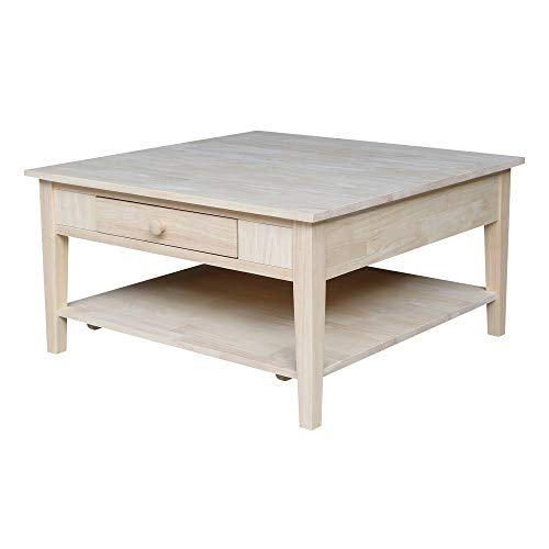 International Concepts Spencer Square Coffee Table