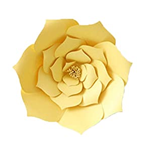 wufang Paper Flowers for Wedding Decor Party Decorations, Nursery Decor Wall of Flowers Floral Backdrop Paper Flower Handcrafted 85