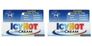 Icy Hot Ointment - Icy Hot Pain Relieving Cream 1.25 Ounce Extra Strength (37ml) (2 Pack)