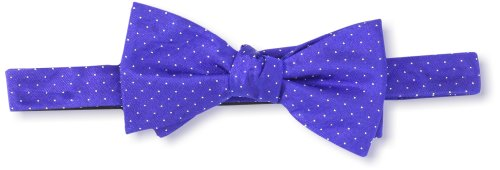 Ben Sherman Mens Temperley Dot Bow Tie Navy One Size