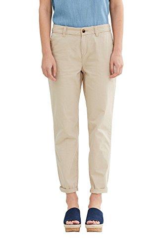 edc by Esprit 047cc1b033, Pantalones para Mujer Beige (Light Beige)