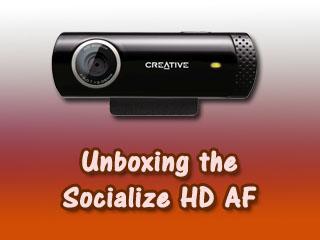 Creative Live! Cam Socialize HD AF (VF0690) Webcam Drivers for PC