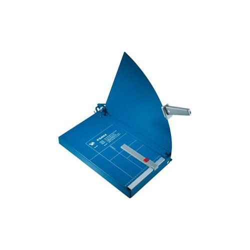 Image of Dahle A4 Guillotine 360mm Cutting Length/ 3.5mm Cutting Capacity - Blue Art Knives & Blades