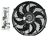 "12"" High Performance Slim Radiator Fan, 2.5 Thickness"