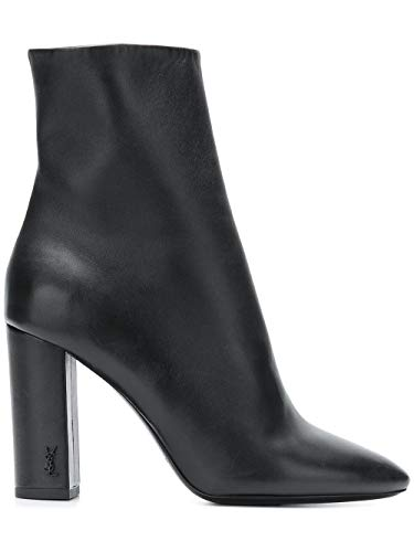 Saint Femme Cuir 5274180RRVV1000 Laurent Bottines Noir 4U8q4wr